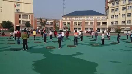 《快樂單雙腳跳》優質課(人教版四年級體育,江蘇省市級優課)