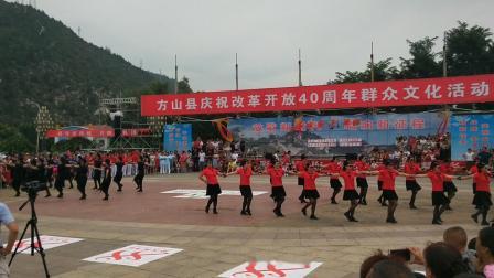 """20180808""""全民健身""""水兵舞串烧---魅力方山水兵舞团"""