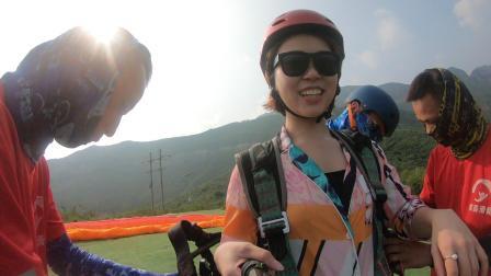 河南省辉县市宝泉滑翔飞行体验