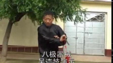 我在中国八极拳名家吴连枝截了一段小视频