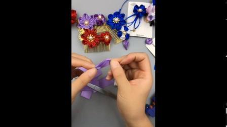 清爽小驿DIY发饰 和风款式1