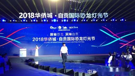 主持人张睿-中英双语主持 2018自贡国际恐龙灯光节开幕式