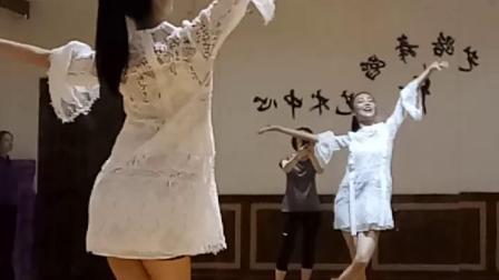 阜阳艺路成人古典舞冰菊物语分解教程第十节