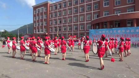 宽甸满族自治县体育运动会八月八日,录制舞王,德宏