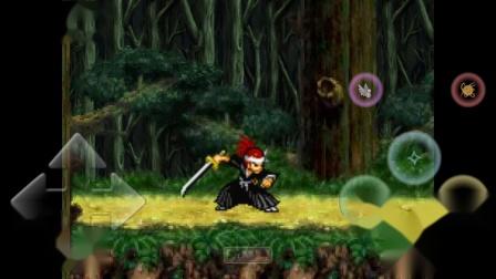 碧血青蛇的《死神VS火影3.0》(手机版)游戏解说小队模式-死神角色第一期:黑崎一护、阿散井恋次、朽木露琪亚登场