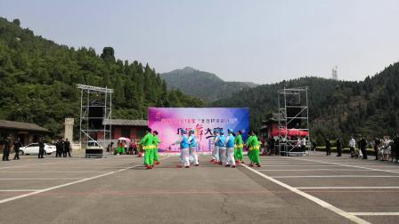 2018年 交城县广场舞大赛 交城山舞蹈队