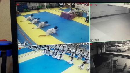 跆拳道考级2 园林艺术培训中心 何宇轩 何为研