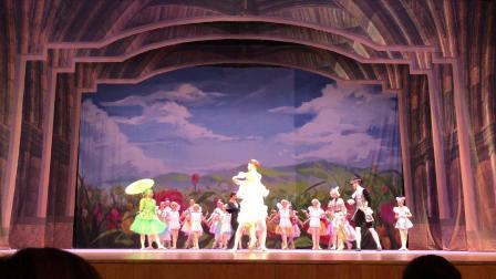 俄罗斯圣彼得堡国立少儿芭蕾舞剧《拇指姑娘》片段5