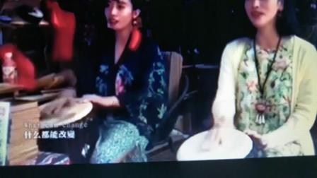丽江双美女~一瞬间~手鼓~非洲鼓~阿伟音乐教室