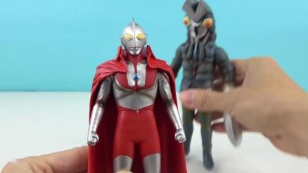 奥特曼五十周年玩具 初代奥特曼和巴尔坦星人 24_超清