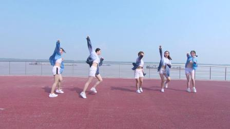南京美度舞蹈培训 炎炎夏日,只有舞蹈才够爽 兔子老师和会员班宝宝们海边风爵士舞 🎵Into it