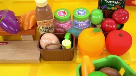 宝宝巴士玩具—野餐记,野外烧烤意外引起火灾,火警来帮助灭火