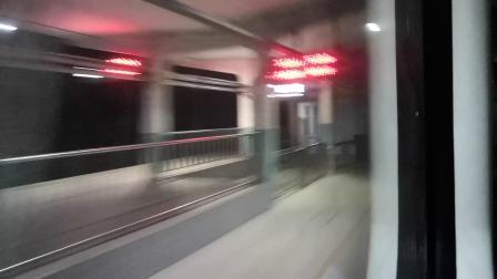 Z176次枣庄西站通过