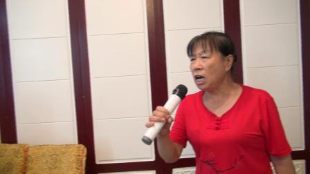 任建莉家亲戚一行12人由宝鸡来克拉玛依一游演唱秦腔《白蛇传》选段-任建莉婆婆演唱-于2018年8月11日与秦腔剧社部分同志在龙凤吉祥酒店片段。