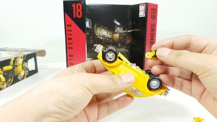 变形金刚 电影工作室 美版 SS-18 甲壳虫 大黄蜂 ToyFactory视频评测