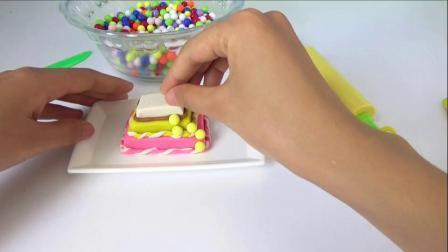 彩色糖果三层蛋糕 450_高清