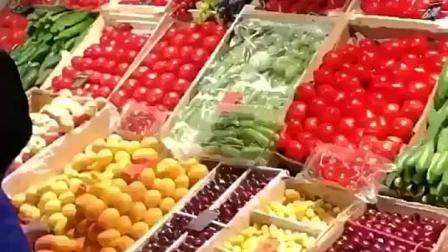世界杯美食记-虽然不如中国水果蔬菜种类丰富,但是琳琅满目