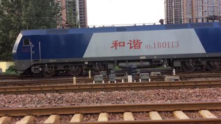 【20180813】武局江段HXD1B0113平顶山东站单机折返