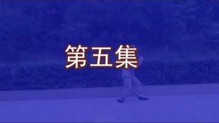 正宗杨式太极拳85式教学(精讲五) 永年李占英_标清_标清