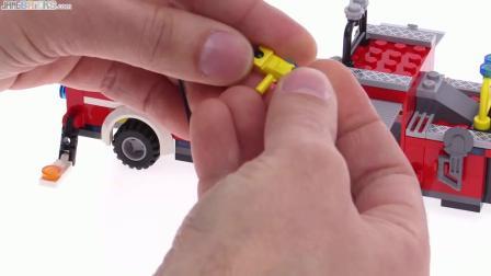 乐高城市2016 Fire Engine (tiller truck) review! 60112