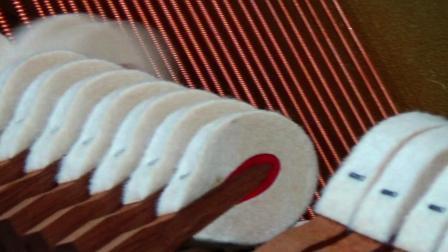 2002年红木琴锤二手钢琴kawai卡哇伊kx38 2441717