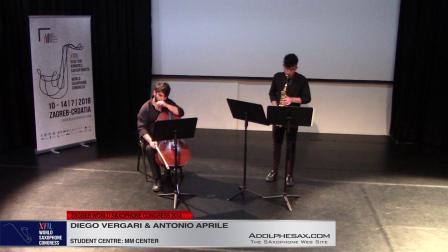 Saxcelle by Guido Donati -  Diego Vergari & Antonio Aprile