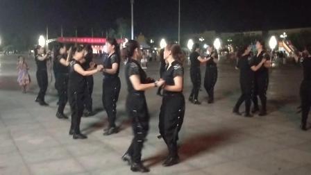 2018年8月14日魅力方山水兵舞团演出