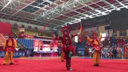 第四届全国青少年红拳大赛暨红拳跑拳打手擂台赛开幕式,榆林剧团武生展演。