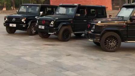 北京BJ80改装奔驰巴博斯brabus包围排气轮圈套件-广州老仓库出品