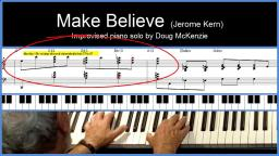 【爵士練習】鋼琴:DM - Make Believe (Jerome Kern)