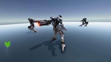 Robot Warrior animated model机器人战士动画模型【cg柚子搬运】