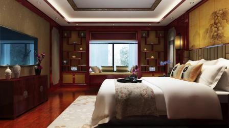 极具美感 精致淡雅的中式别墅装修