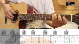 王贰浪 往后余生 唯音悦简单吉他弹唱教学 吉他教程