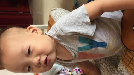 一岁七个月的朗朗