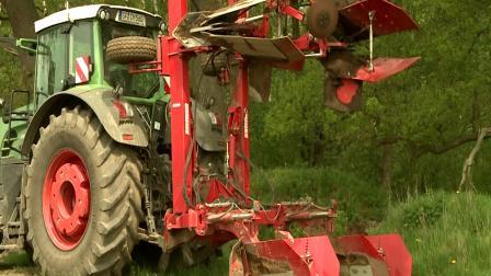 2018格立莫马铃薯春耕播种机械作业视频