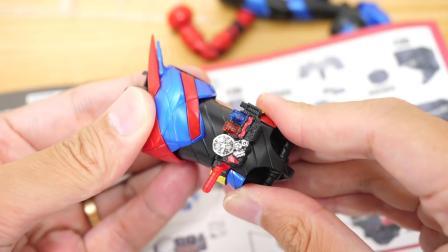 【模型评测】Bandai/万代 拼装模型 假面骑士Build 野兔坦克形态模型