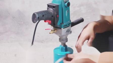 水钻水管安装