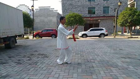 24式杨式太极剑练习
