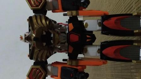 日版超星神 超星舰队 狮子战舰 雄狮流星神评测
