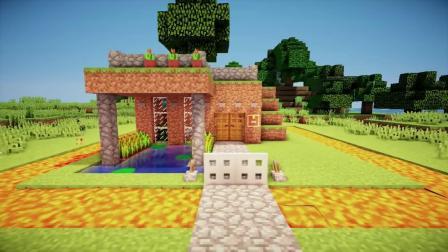 MC证明起动器房子教程-如何在Minecraft建造房子