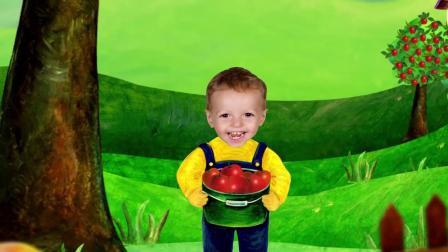 积木火车拉小牛游戏 认识颜色认识颜色 学习英语 婴幼儿早教益智动画英语启蒙