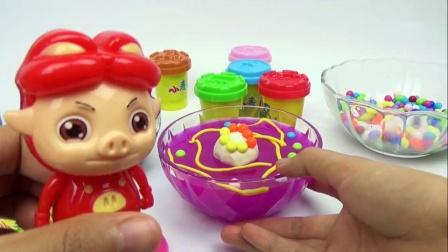 水晶彩泥DIY制作雪糕布丁糖果布丁 320_高清