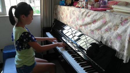 9级c小调奏鸣曲第一乐章(op10.no.1)贝多芬曲
