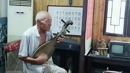 安徽泗州戏老艺人82岁宝刀未老。