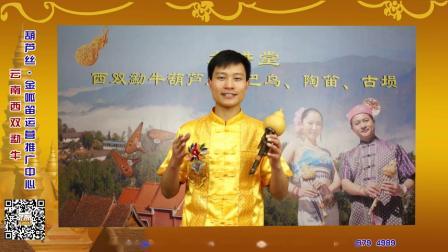 云南西双勐牛葫芦丝教学——葫芦丝转调练习