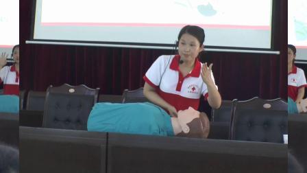 应急救护培训--走进南沱(涪陵区红十字会
