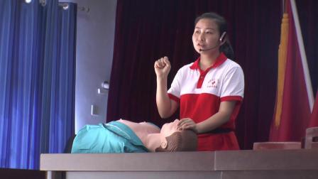 """应急救护培训--走进清溪(涪陵区红十字会""""五进""""工作系列专题片2)"""