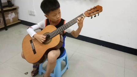 严晨睿笑场版《简单对话》古典吉他
