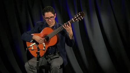 Wild Mountain Thyme played by Tavi Jinariu, classical guitarist [720p]