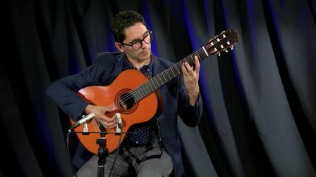 Cancion de Cuna (Berceuse) played by Tavi Jinariu, classical guitarist